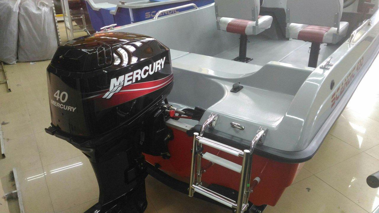 лодочный мотор mercury 40eo цена