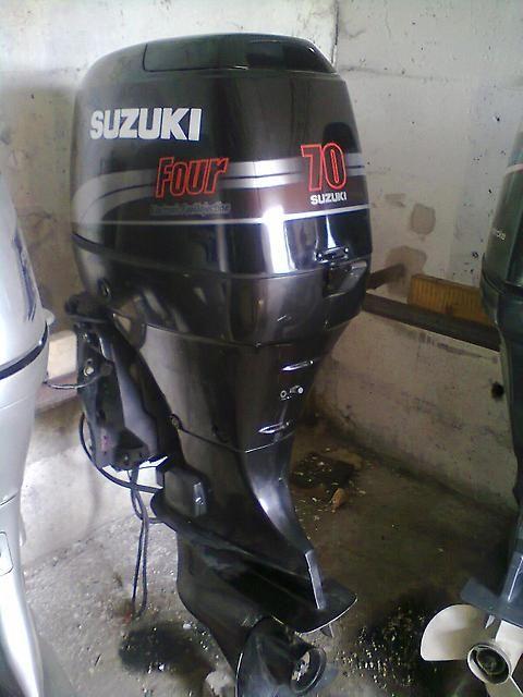Лодочный мотор Suzuki DF 70 л.с. 4-х тактный