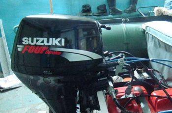 Лодочный мотор Suzuki DF 15 л.с. 4-х тактный