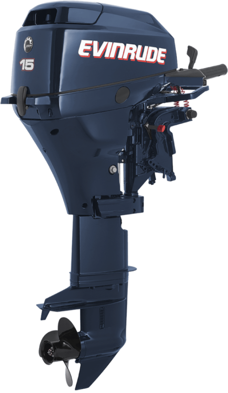 Лодочный мотор Evinrude 15 4-х тактный