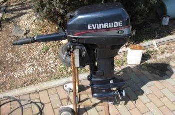Лодочный мотор Evinrude 9.9 4-х тактный