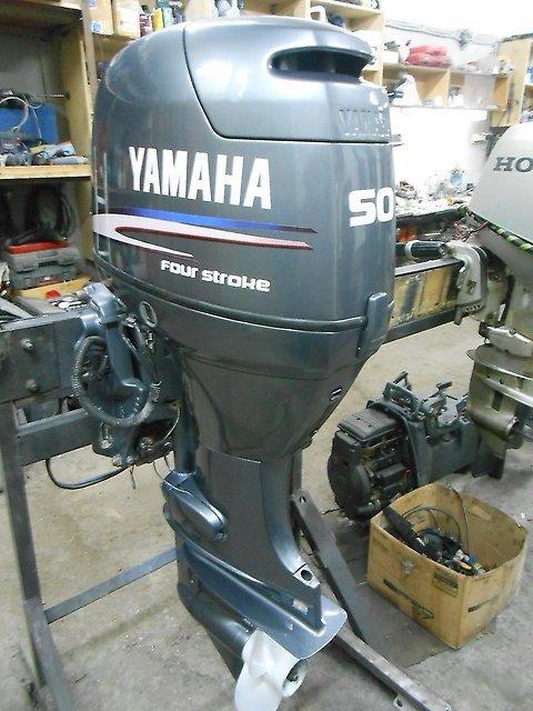 Лодочный мотор Yamaha F50 HETL 4-х тактный