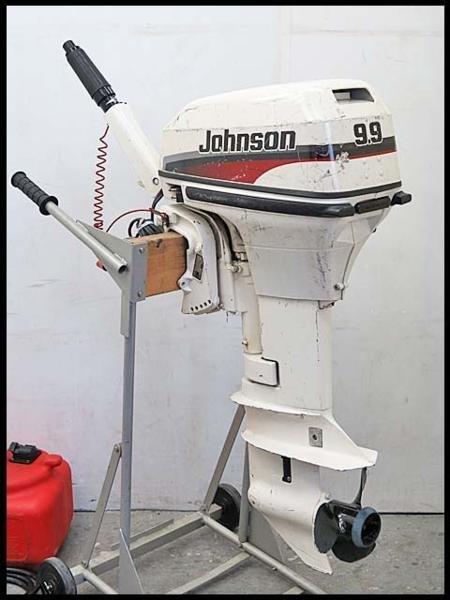 Лодочный мотор Johnson 9.9 л.с.