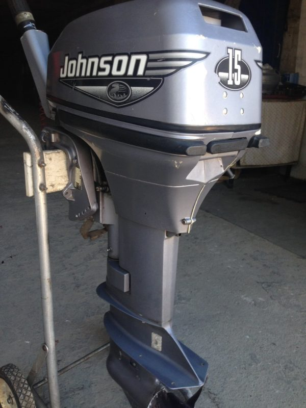 Лодочный мотор Johnson 15 л.с.