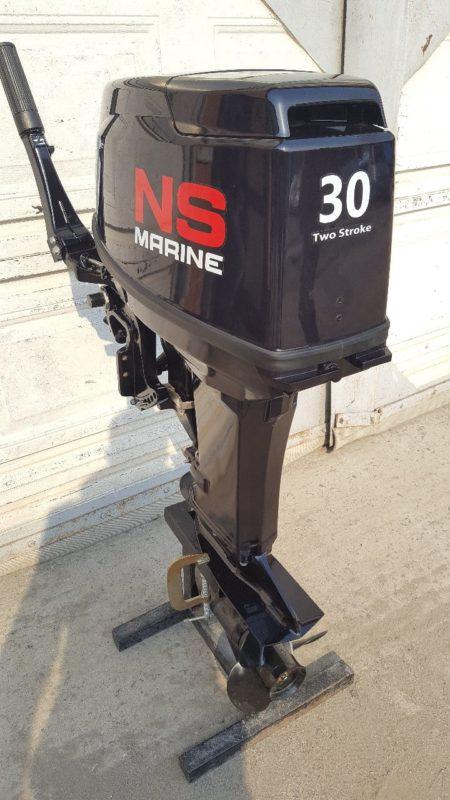 Лодочный мотор Nissan Marine 30 л.с. 2-х тактный