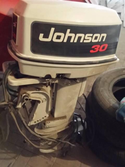 Лодочный мотор Johnson 30 л.с. 2-х тактный