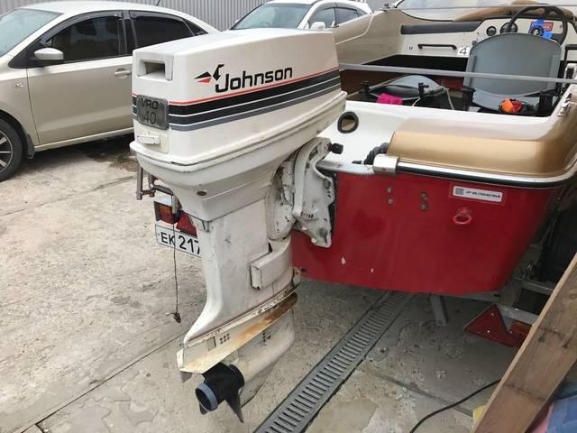 Лодочный мотор Johnson 40 л.с.