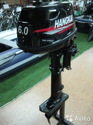 Лодочный мотор Hangkai 6 л.с. 2-х тактный