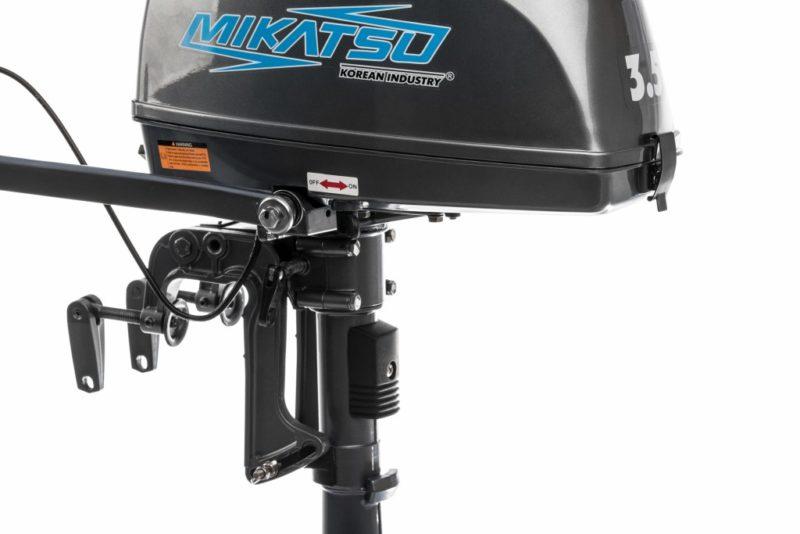 Лодочный мотор Mikatsu M 3.5 FHS 2-х тактный