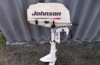 Лодочный мотор Johnson 3.3 л.с.