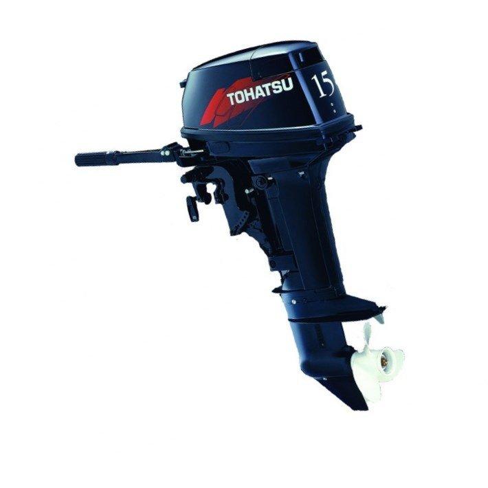 Лодочный мотор Tohatsu 15 л.с. 2-х тактный