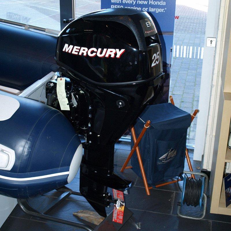 Лодочный мотор Mercury F 25 M EFI 4-х тактный