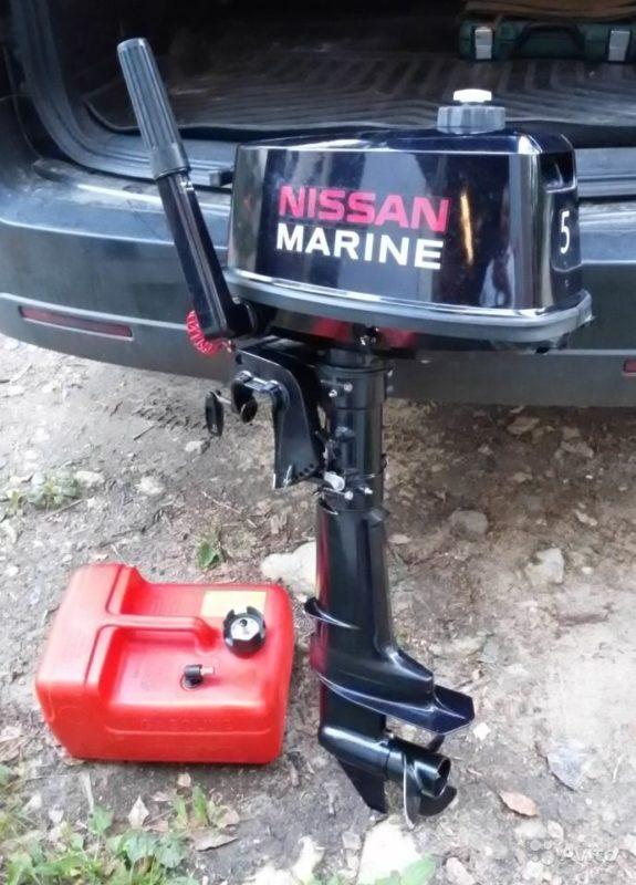 Лодочный мотор Nissan Marine NS 5 л.с. 2-х тактный