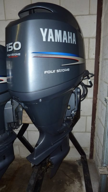 Лодочный мотор Yamaha F150AETL 4-х тактный
