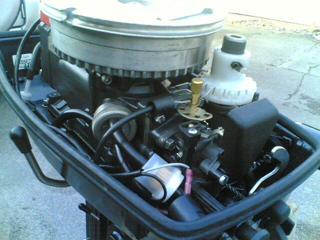 Лодочный мотор Selva Capri 6 л.с.
