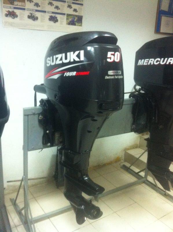 Лодочный мотор Suzuki DF 50 л.с. 4-х тактный