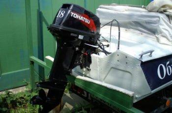 Лодочный мотор Tohatsu M 18 E2S 2-х тактный