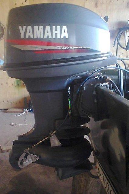 Лодочный мотор Yamaha 50 HMHOS 2-х тактный