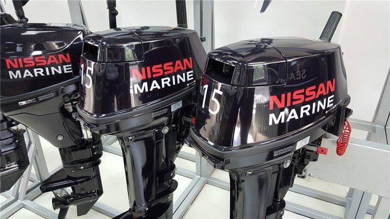 Лодочный мотор Nissan Marine NS 15 л.с.