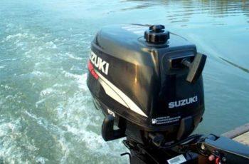 Лодочный мотор Suzuki DF 5 S 2-х тактный