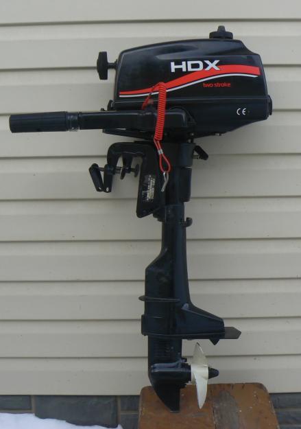 Лодочный мотор HDX T 3.6 BMS 2-х тактный