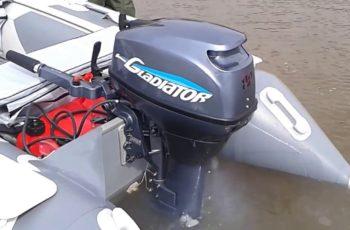 Лодочный мотор Гладиатор 15 л.с.