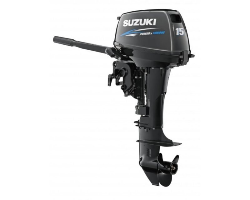 Лодочный мотор Suzuki DT 15 AS 2-х тактный