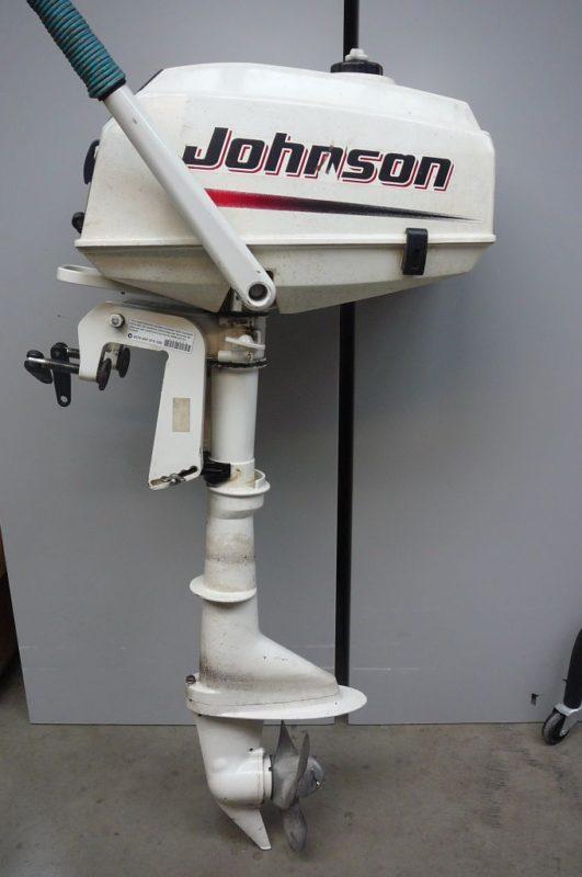 Лодочный мотор Johnson 3.5 л.с.