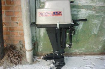 Лодочный мотор Вихрь 25 2-х тактный