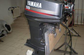 Лодочный мотор Yamaha 55 л.с. 4-х тактный